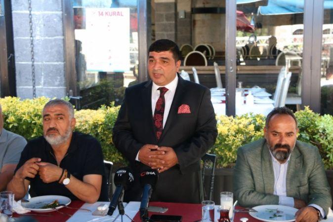 Gaziantep Gazeteciler Cemiyeti Seçimi Öncesi  Levent Özkurt Ağırlığı