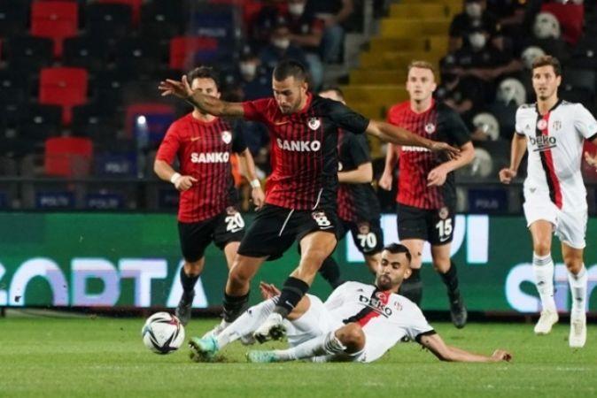 Gaziantep'ten Son Şampiyon Beşiktaş'a Çelme : 0-0