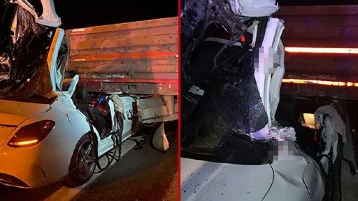 Gaziantep yolundaki kazada ,üç kardeşten biri polis 2'si öldü, 1'i ağır yaralandı