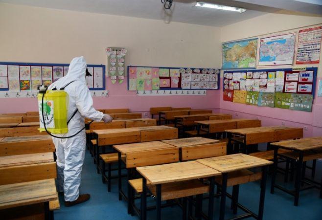 Gaziantep'te Okullarda koronavirüs alarmı! Sınıflar tek tek kapatılıyor