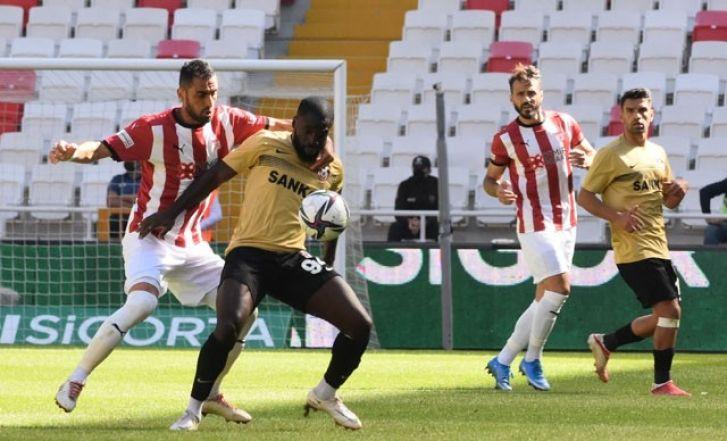 Gaziantep FK, Son Dakika Golü ile  Bir Puan Aldı