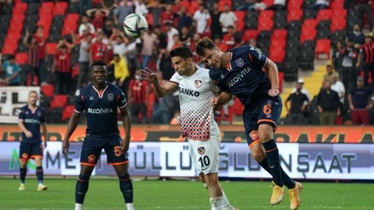 Gaziantep FK : 1 Medikol Başakşehir : 0