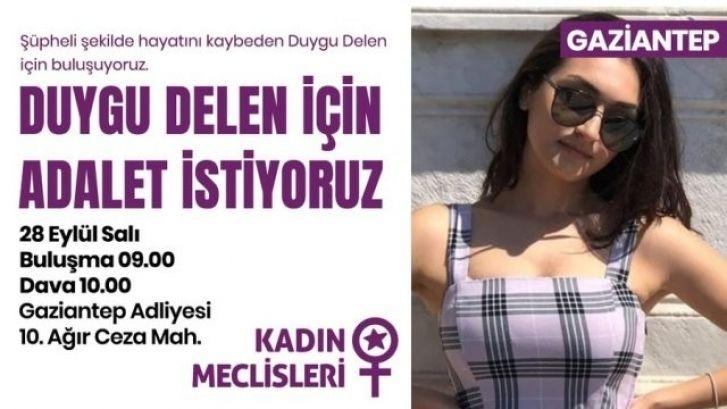 Bugün Gaziantep'te ' Duygu Delen ' Günü...