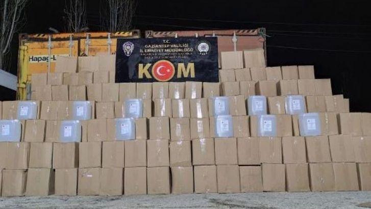 Gaziantep'te Sahte İçki Operasyonu. 9 Kişi Gözaltına Alındı