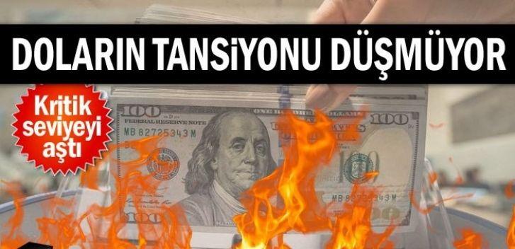 Dolar ; Alev...Alev. Kritik Seviyeyi Aştı