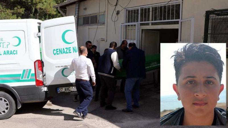Gaziantep'te Kahreden Ölüm. Daha 14 Yaşındaydı