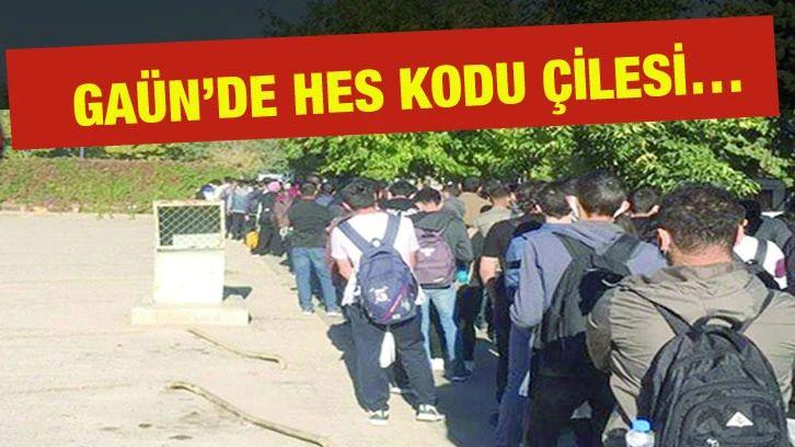 GAÜN'de HES çilesi…  Gaziantep Üniversitesi Önünde Çile Bitmiyor!