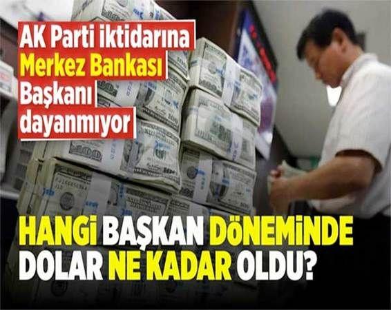 AK Parti iktidarına Merkez Bankası Başkanı dayanmıyor...Merkez Bankası'ndan Kimler Gedi, Kimler Geçti?
